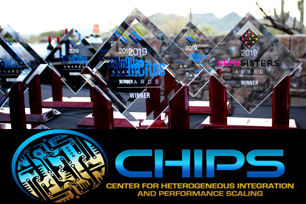UCLA CHIPS was named research institute of the year by 3D Incite.