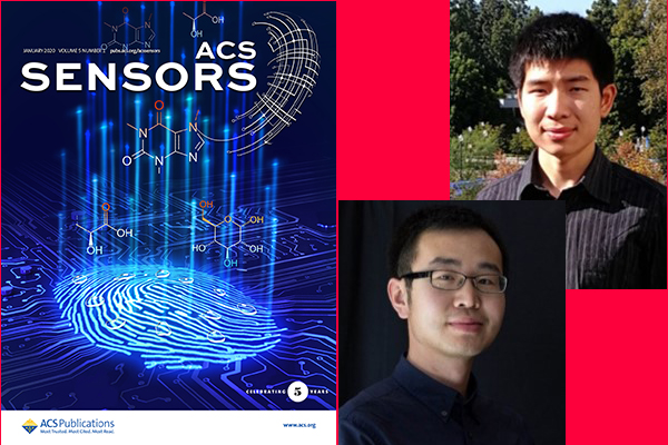 Prof. Emaminejad's Lab's (I²BL) paper is on the cover of ACS Sensors