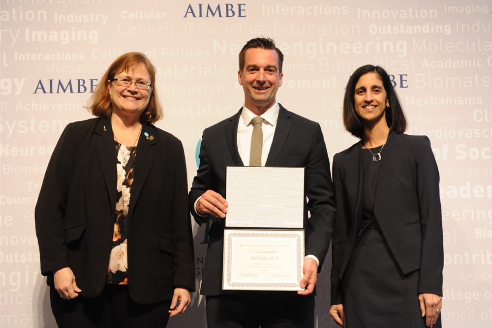 Rob Candler Inducted into Medical and Biological Engineering Elite
