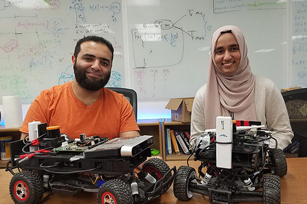 ECE Ph.D. students, Fatima Anwar & Amr Alanwar, selected as finalists for the Qualcomm Innovation Fellowship (QInF)