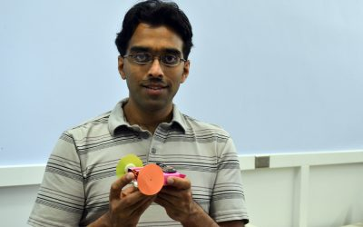 Prof. Ankur Mehta recently received a National Science Foundation Career  Award.