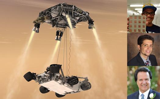 Santos, Kovitz and Prof. Rahmat-Samii's work on a novel antenna design for 2020 Mars Rover featured on The Conversation