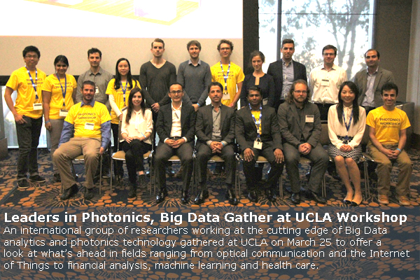 Leaders in Photonics, Big Data Gather at UCLA Workshop