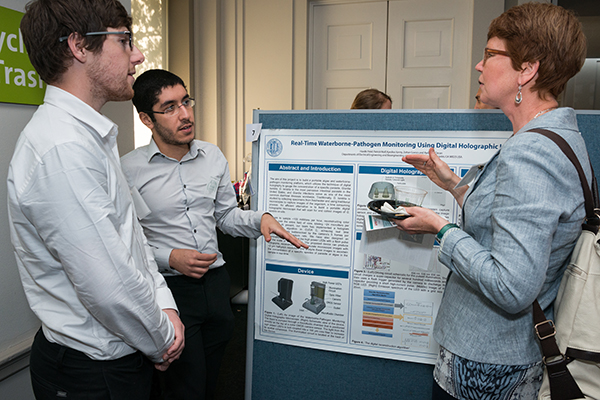 Prof. Ozcan's researchers Kyrollos Yanny & Patrick Wolf presented on Capitol Hill