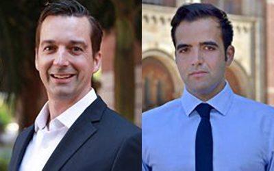 Profs. Rob Candler & Sam Emaminejad elected as Senior Members of the NAI