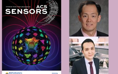 Prof. Chui & Ph.D. Student, Ablaikhan Akhazhanov, have cover published on ACS Sensors