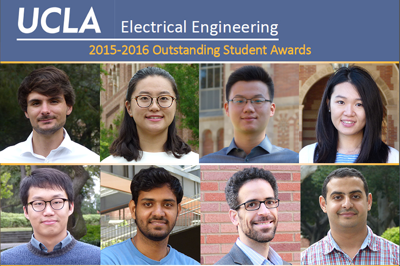 Electrical Engineering 2015-2016 Outstanding Student Awards