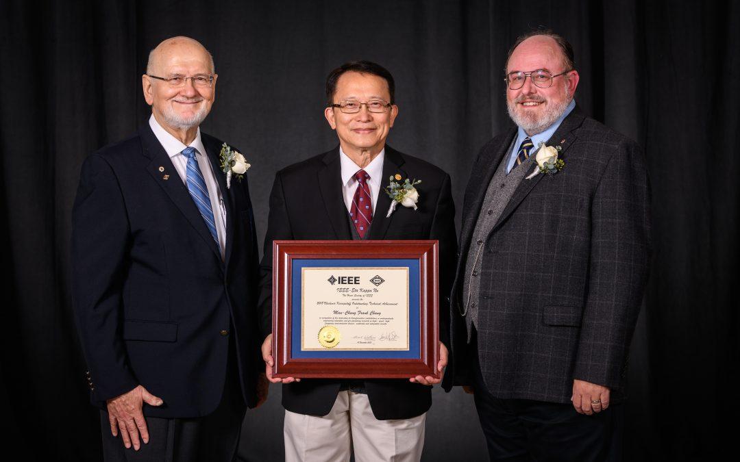Prof. M-C Frank Chang awarded IEEE Eta Kappa Nu Vladimir Karapetoff Outstanding Technical Achievement Award