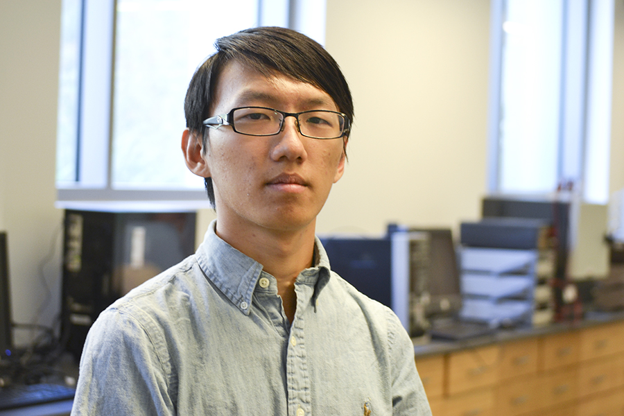 "Grad student, Zhe ""Frank"" Wan, wins IBM Corporation's 2017 Ph.D. Fellowship Award"