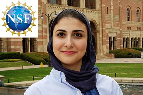 Hannaneh Hojaiji, Prof. Emaminejad's PhD student, receives special recognition in the Honorable Mention List of the NSF.