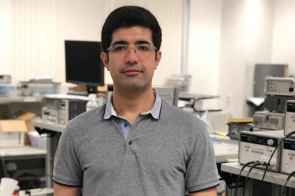 Hamed Rahmani, a Ph.D. student, received an IEEE MTT-S Graduate Fellowship of Medical Applications