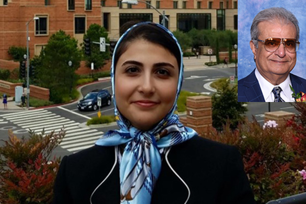 Hannaneh Hojaiji, an ECE undergraduate researcher with Prof. Emaminejad's Lab (I²BL), wins Asad Madni Scholarship in Engineering