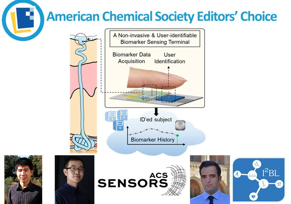 The paper published by Professor Emaminejad's group is featured in ACS Editors' Choice.