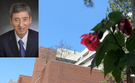Professor Tatsuo Itoh receiving Honorary Degree