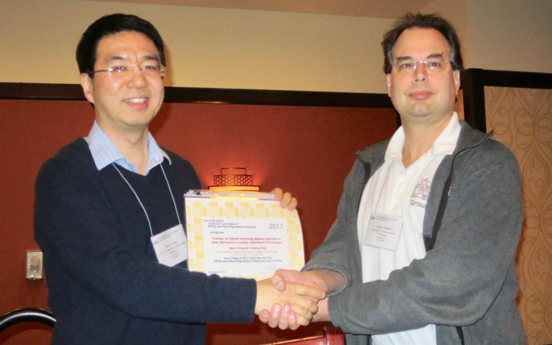 "Prof. Jason Cong's ""FlowMap"" paper inducted to inaugural class of FPGA & Reconfigurable Computing Hall of Fame."