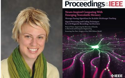 Prof. Lara Dolecek's survey paper featured on the February cover page of IEEE Proceedings.