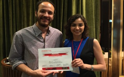 Nezih Tolga Yardimci, a PhD student working with Prof. Mona Jarrahi, received Best Student Paper Award (3rd place) at the 40th International Conference on Infrared, Millimeter, and Terahertz Waves.