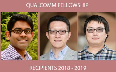 Qualcomm Fellowship Recipients 2018 – 2019