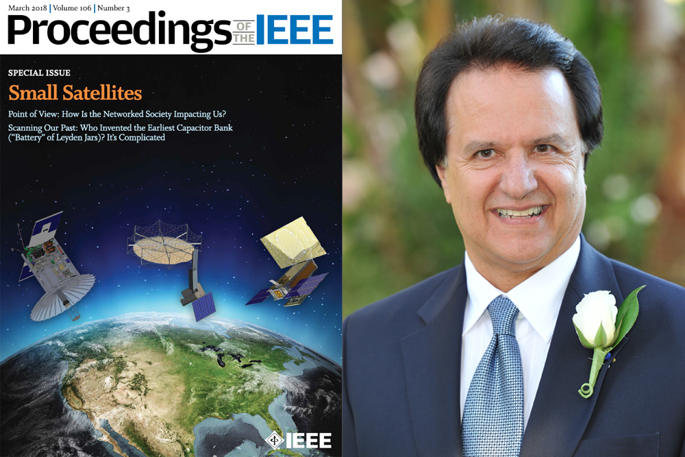 Distinguished Prof. Yahya Rahmat-Samii's papers appeared on the cover page of the Proceedings of the IEEE