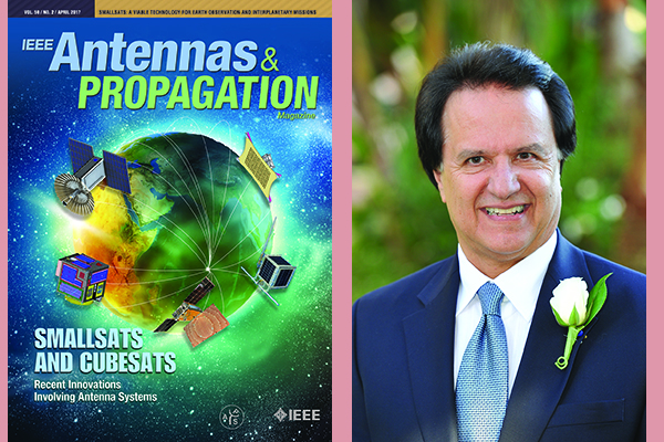 Distinguished Prof. Yahya Rahmat-Samii Guest Editor of cover-page issue on SamllSat and CubeSat Antennas