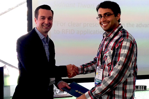 Prof. Candler's Ph.D. student, Sidhant Tiwari, wins Best Student Paper Award at 2018 IEEE IFCS