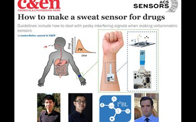 I²BL presents Design Guidelines and a Sensing System for Wearable Drug Monitoring