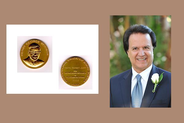 Distinguished Professor Yahya Rahmat-Samii was elected Fellow of URSI
