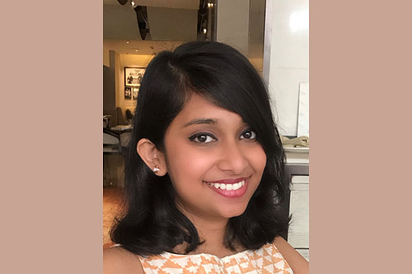 Irina Alam awarded 2019 Cadence Women in Technology Scholarship.