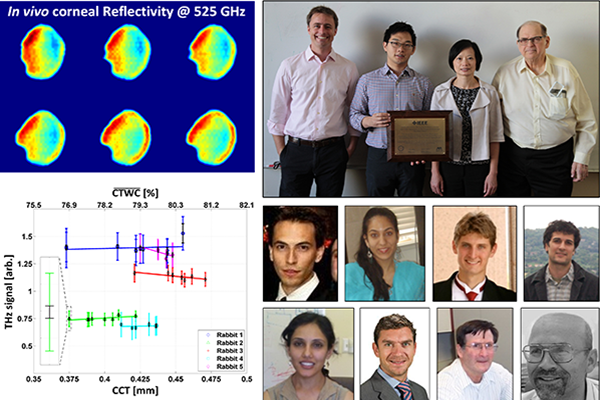A team led by Prof. Zachary Taylor wins the 2016 THz Science and Technology Best Paper Award