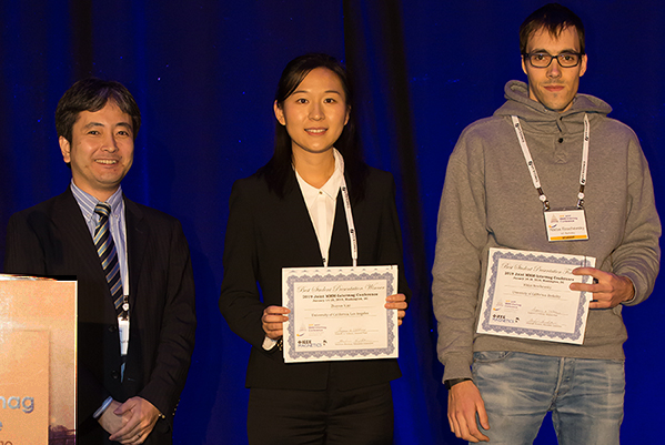 Maggie Xiao of Prof. Candler's group awarded Best Student Presentation Award @ 2019 Jt. MMM-Intermag Conf.