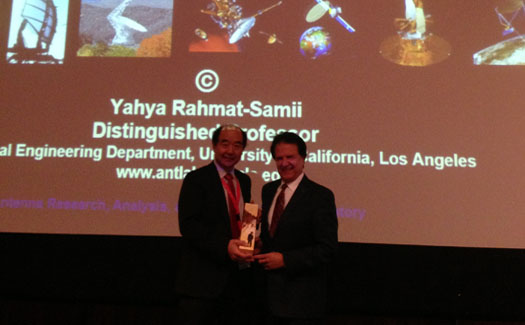 Distinguished Professor Yahya Rahmat-Samii was a Keynote Speaker at the Asia-Pacific International symposium on Antennas and Propagation (ISAP2015)