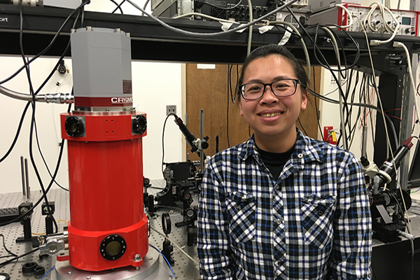 Yen-Ju Lin from Prof. Jarrahi's research grp selected for a Graduate Fellowship for Medical Applications.