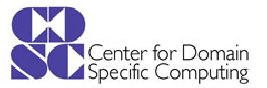 Center for Domain-Specific Computing (CDSC)