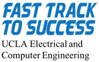 Fast Track to Success, UCLA Electrical and Computer Engineering Logo