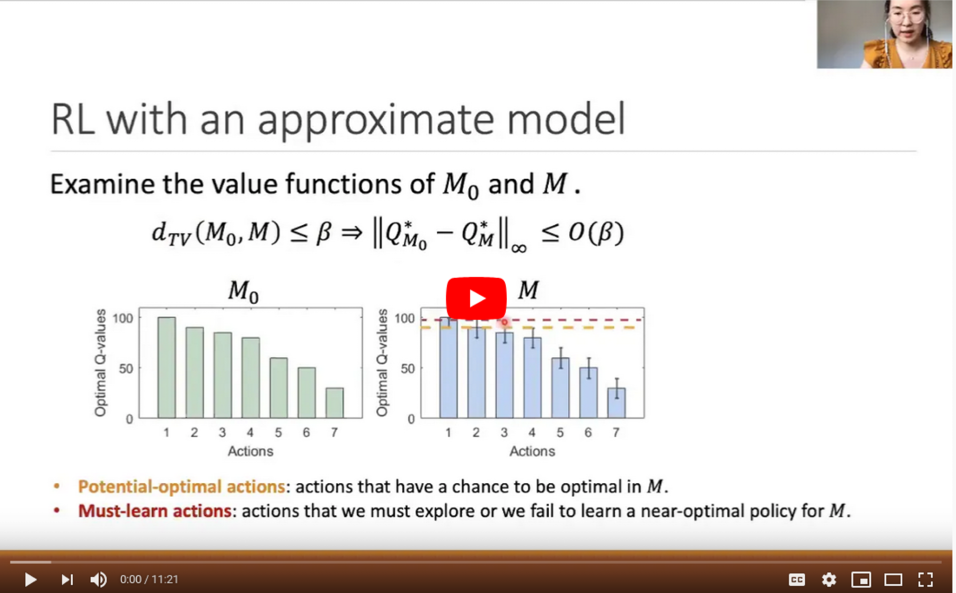 How does an approximate model help in RL?