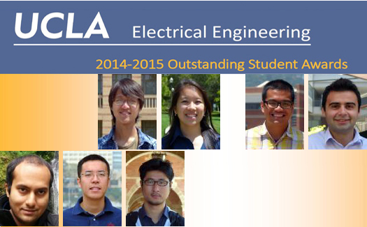 UCLA Electrical Engineering 2014-2015 Outstanding Student Awards