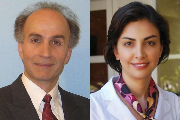 Professors Behzad Razavi and Mona Jarrahi recognized as distinguished alumni of Sharif University