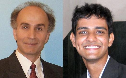 Prof. Behzad Razavi's student Abishek Manian receives the VLSI Circuits Symposium Best Student Paper Award